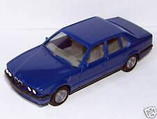 MICRO HERPA HO 1/86 1/87 BMW 735 I BLEU FONCE