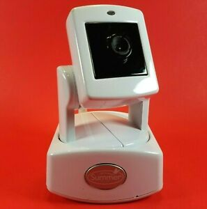 Summer Infant Baby Monitor Video Camera Model PZK-0264041T White NO POWER SUPPLY