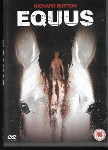 EQUUS GENUINE R2 DVD RICHARD BURTON PETER FIRTH JENNY AGUTTER COLIN BLAKELY VGC