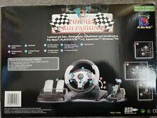 Lenkrad mit Gas-, Bremspedal, Schalthebel und Handbremse für PC, Xbox und Playst