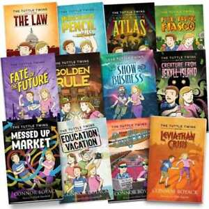 Tuttle Twins Full Set of 12 books + Printable Workbooks + FREE SAME DAY SHIPPING