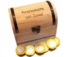 nach Wunsch gravierte Holz Schatzkiste 15 cm wundervolles Geschenk für Kind