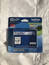 Brother P-Touch Black on Clear Label Tape TZe-131