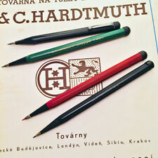 1930s L.C.HARDTMUTH 4096 & 4618 MEPHISTO RARE VINTAGE  MECHANICAL PENCIL LOT