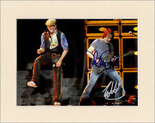 DAVID LEE ROTH AND EDDIE VAN HALEN PP 8x10 MOUNTED SIGNED AUTOGRAPH PHOTO