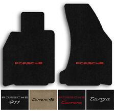Lloyd Ultimat Custom Carpet 2pc Floor Mats - 2002-2005 Porsche 911 w/Bose Sound