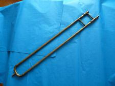 Coulisse de trombone ancien en bon état. Vintage trombone slide, good shape.