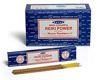 Satya Sai Baba Reiki Power Nag Champa 180 G Grams Indian Incense Sticks FREE SHI