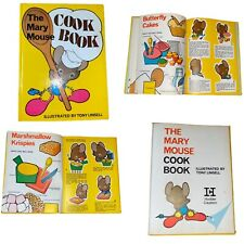 Vintage 1974 The Mary Mouse Cook Book Illustrated By Tony Linsell Hardback Book