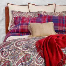 Ralph Lauren Norwich Road Pyne Full/Queen Duvet Cover Paisley Multi Cotton $385