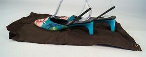 Vintage 1999 Spring/Summer Tom Ford for Gucci Floral Slingback Heels Size 7B