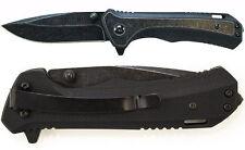 SCHRADE SCH501 G-10 Stone Washed liner lock 9Cr18MoV 440c AUS-10