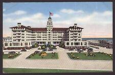 USA. New Jersey. Hotel Monterey. Asbury Park. Vintage Linen Finish Postcard