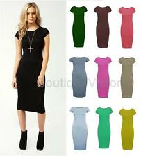 Polyester Short Sleeve Stretch, Bodycon Dresses for Women