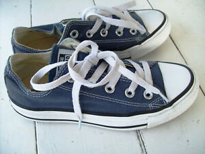 Converse Shoes All Star Low Top Sneaker~Blue Canvas~Women's 5