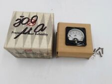 M/W MITAKA  Electrical Instrument Small Gauge Model #MO-38 Microamperes