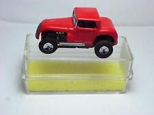 AURORA MODEL MOTORING T-JET RED HOT ROD COUPE HO SLOT CAR .W/CASE