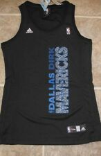Adidas Women's NBA Jersey Mavericks Dirk Nowitzki Black Fashion sz S