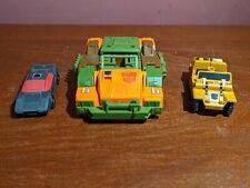 G1 Vintage 1985 Autobot Roadbuster Transformer Lot