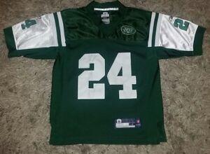 Reebok NFL New York Jets Darrelle Revis Jersey #24 Youth Kid Medium FREE SHIP
