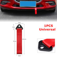 Racing Car Universal High Strength Red Nylon Trailer Tow Ropes Strap Tow 2 Tons