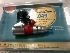 model aircraft engines Cox Medallion 049