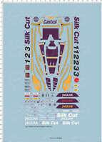 1/24 scale JAGUAR XJR-9LM Racing Car Model Kit Water Slide Decal 65281A