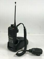 Motorola Mts2000 Portable Two Way Radio With Charger Amp Mic