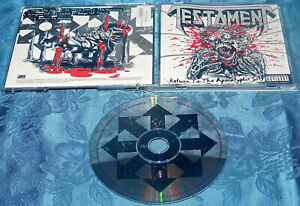 TESTAMENT RETURN TO THE APOCALYPTIC CITY (EP) CD 1993 ATLANTIC MINT DISC MUSIC