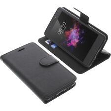 Borsa per TP-LINK neffos x1 Book-Style guscio protettivo Libro Custodia Cellulare Nero