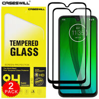 For Motorola One Macro - Caseswill Full Coverage Tempered Glass Screen Protector