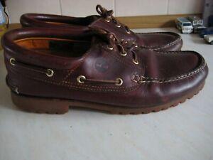 Mens Timberland Moccasin Shoe Size US 10.5 / UK 10