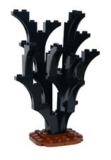 LEGO BURNT BLACK TREE for castle knight hobbit lord of the rings