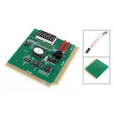 PC Motherboard Diagnostic Card 4-Digit PCI/ISA POST Code Analyzer LW