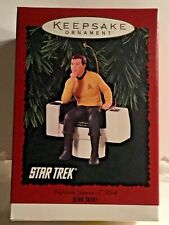 1995 Hallmark Keepsake Ornament Star Trek Captain James T Kirk Ornament