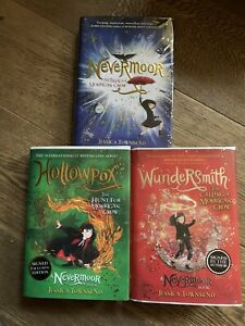 Nevermoor Series, 3 Books, 1st Edition,1st Prints, Signed By Jessica Townsend.