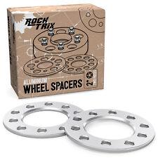 "2pc 1/4"" Flat Wheel Spacers - 5x127 & 5x139.7 Dual Bolt Pattern - 87 Hub Bore"