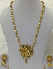 South Indian Traditional Jewellery Lakshmi dollar set with  lakshmi earring