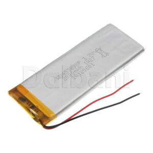 453898P Internal Lithium Polymer Rechargeable Battery 3.7V 2000mAh 5x38x98mm