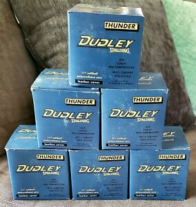 Lot of 6 Brand New Dudley Official Softballs Thunder Heat Red stitch WT11 GWSP47
