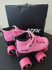 Lynx Apex Kids Quad Roller Skates- Girls Size Jr 11- Apex P1 Roller Skates