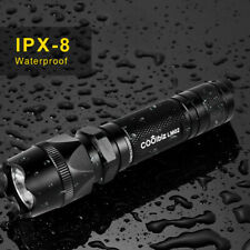 120000 lumens XLamp Most Powerful Led Flashlight USB Zoom Tactical Torch US TORE