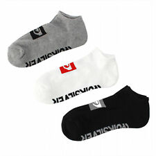 Quiksilver Women's Pack of 3 Invisible LOW Sports Trainer Cushion Socks 37-40