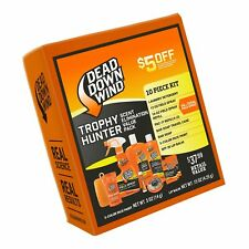 Dead Down Wind Trophy Hunter Kit – Scent Elimination for Hunting Gear, 10 Pie.