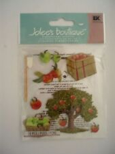 JOLEES BOUTIQUE APPLE PICKING SCRAP BOOK STICKERS