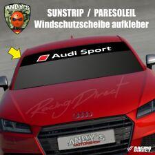 881 Windschutzscheibe Aufkleber AUDI SPORT 2018 logo decal sticker sunstrip