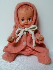 Vintage Doll 1960's with Knitted outfit