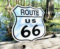 Route 66 Shield Vintage Metal Tin Sign Wall Decor Garage Man Cave Mother Road