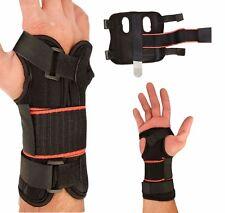 Dual Hand Wrist Support Brace Splint for Carpal tunnel, Arthritis Sprain Strain