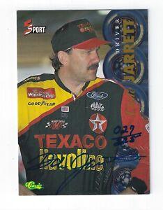 1995 Classic Five Sport Autographs Numbered #175 Dale Jarrett/225